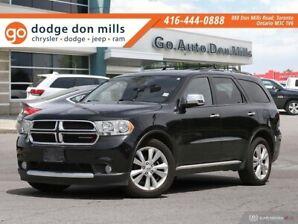 2013 Dodge Durango CREW Plus - Leather - Sunroof - Alpine audio - Rea