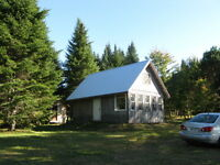 Waterfront Cottage on small woodlot on Grand Lake