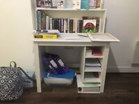 Ikea Brusali white desk