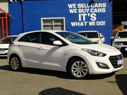 2015 Hyundai i30 GD3 Series II MY16 Active DCT White 7 Speed Sports Automatic Dual Clutch Hatchback Welshpool Canning Area Preview