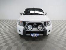 2014 Nissan Navara D40 ST Titanium Edition (4x4) White 5 Speed Automatic Dual Cab Pick-up Jandakot Cockburn Area Preview