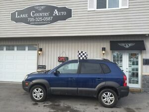 2006 Hyundai Tucson GLS-1 Owner!, Leather, Sunroof