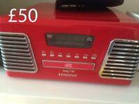 Steepletone Roxy CD/Turntable