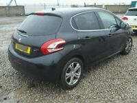 PEUGEOT 208 BREAKING ROOF SILL QUARTERS MOST PARTS AVAILABLE