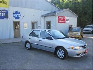 2002 Toyota Corolla CE|1 OWNER|COLD A/C|MUST SEE