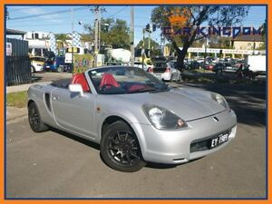 2000 Toyota Mr2 ZZW30R Spyder 5 Speed Sequential Manual Convertible Homebush Strathfield Area Preview