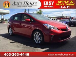 2012 Toyota Prius V LEATHER PANORAMIC ROOF 90DAYNOPAYMENTS