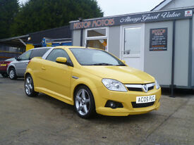 2008 VAUXHALL TIGRA 1.4 SPORT CONVERTIBLE ONLY 57K ALL CREDIT/DEBIT CARDS ACCEPTED