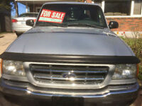 2002 Ford Ranger Ext Cab Pickup Truck