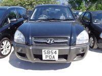 2005 54 reg hyundai tucson 2l gsi 4x4 mot for 1 year ex we jeep £1295