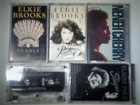 A-Z 2 ELKIE BROOKS, NENEH CHERRY, EVERYTHING BTG, E PAIGE PRERECORDED CASSETTE TAPES. 1000+ ON OFFER