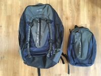Large Backpack (& mini backpack) - Perfect for travelling -