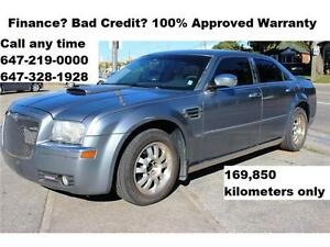 2006 Chrysler 300 Leather Sunroof FINANCE 100% APPROVED WARRANTY