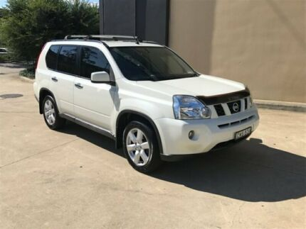 2008 Nissan X-Trail T31 TS Wagon 5dr Spts Auto 6sp 4x4 2.0DT White Sports Automatic Wagon