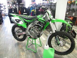 Motorcroos bike's, KX 450, 250, 100, 85, 65.  Cooper's #1