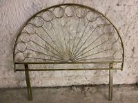 FOR SALE BRASS HEADBOARD FOR DOUBLE BED