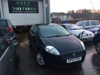 Fiat Puno Grande 1.2, New MOT, Low Miles, Great Condition, Warranty, Serviced