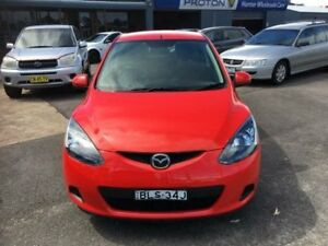 2009 Mazda 2 DE10Y1 Neo Red Automatic Hatchback