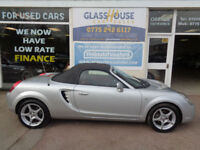 Toyota MR2 1.8 VVT-i Roadster Red S/H Low Mileage P/X Swap