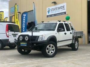 2008 Holden Rodeo RA MY08 LX (4x4) White 5 Speed Manual Crew Cab Chassis East Brisbane Brisbane South East Preview
