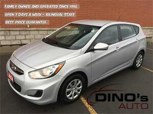 2014 Hyundai Accent GL | $44 Weekly $0 Down *OAC