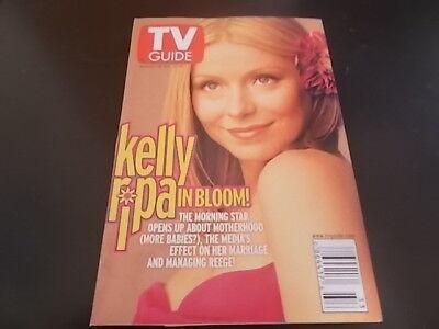 Kelly Ripa   Tv Guide Magazine 2001