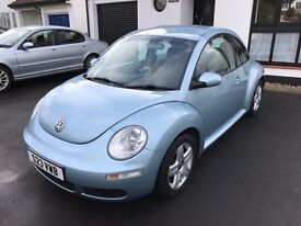 VW Beetle 1.9 TDI, Facelift 2007, Exceptional Condition, FSH, Private Plate Included!