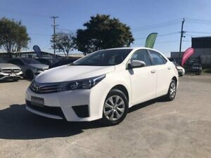 2015 Toyota Corolla ZRE172R Ascent White 7 Speed CVT Auto Sequential Sedan Coopers Plains Brisbane South West Preview