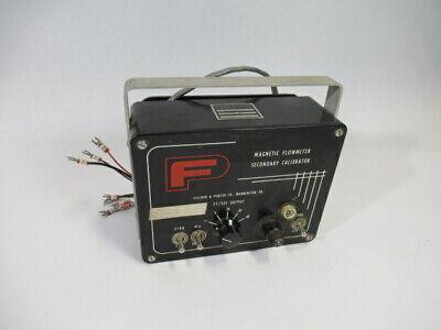 Fischer Porter 55mc1015 Magnetic Flow Meter Secondary Calibrator Used