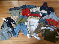 Boys 24 M / size 2 Spring and summer wardrobe