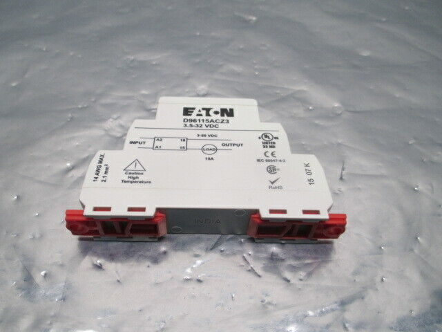 2 Eaton D96115ACZ3 Solid State Relay, 3.5-32 VDC, 453716