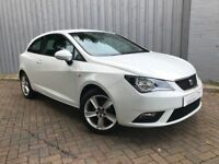 Seat Ibiza 1.4 Toca Sport Coupe, with Lovely Low Miles, Full Service History, and in the Best Colour