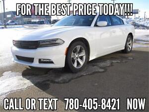 2015 Dodge Charger SXT - DRIVE HOME TODAY! Only $153 Bi-Wkly