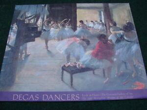 Degas Dancers Gallary of art 1986