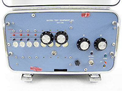 Matrix Test Equipment Psx-6b Catv Generator 4 Channel 135 189 400 450 Mhz