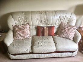 Italian Leather Sofa (1-2-3 seater)