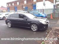 2006 (55) Vauxhall Signum Design 2.8i V6 24v Turbo 5DR Estate BLACK + LOW MILES