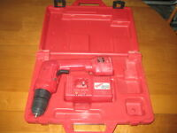 18 V Drill, charger case and Battery