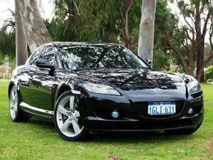 2006 Mazda RX-8 FE1031 MY06 Black 6 Speed Manual Coupe Myaree Melville Area Preview