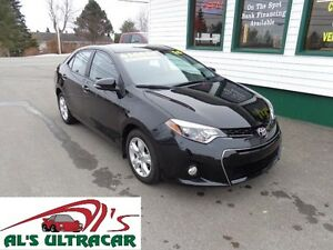 2015 Toyota Corolla S for only $136 bi-weekly all in!
