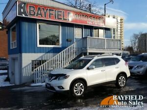 2015 Nissan Rogue SL AWD **Leather/Navi/Pano Roof/Only 68k!**