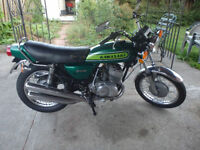1974 Kawasaki 250 S1B TRIPLE All Original!