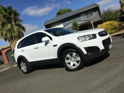 2014 Holden Captiva CG MY15 7 LS White 6 Speed Sports Automatic Wagon Nailsworth Prospect Area Preview