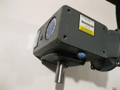 Boston Gear F724-10-b7-g 101 Speed Reducer Gearbox C-face Motor Mount