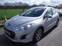 PEUGEOT 308 E-HDI ACTIVE - FULL SERVICE HISTORY, Silver, Manual, Diesel, 2011