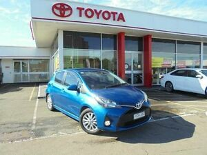 2014 Toyota Yaris NCP131R MY15 ZR Tidal Blue 4 Speed Automatic Hatchback Belmore Canterbury Area Preview
