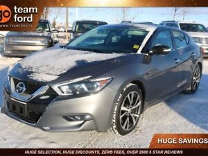 2017 Nissan Maxima SV, 3.5L V6, FWD, BLUETOOTH MEDIA, NAV, REAR
