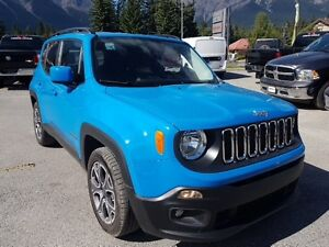 2015 Jeep Renegade North Heated Seats remote start beautiful blu
