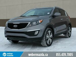 2015 Kia Sportage EX AWD-NAV-LEATHER-NO FEES-MOVING SALE