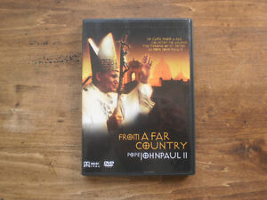 FROM A FAR COUNTRY POPE JOHN PAUL II DVD